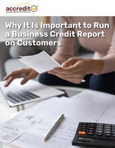 Why It Is Important to Run a Business Credit Report on Customers